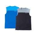 ランナーズ 【NEW】軽量吸水速乾ストレッチシャツ(ノースリーブ)(2色セット)