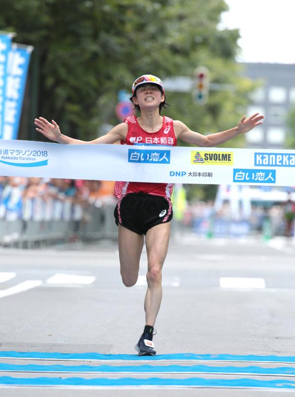RUNNET【大会ニュース】北海道マラソン2018 男子は岡本直己選手、女子は鈴木亜由子選手が優勝!