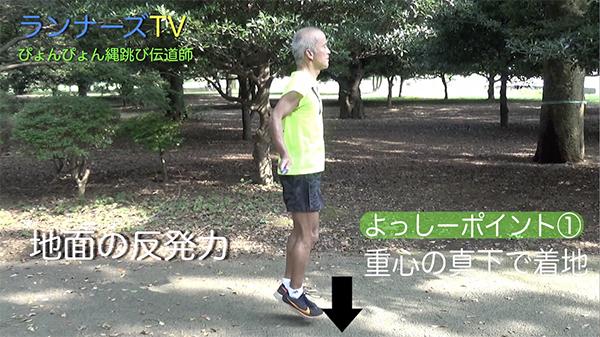 縄跳び ジョギング